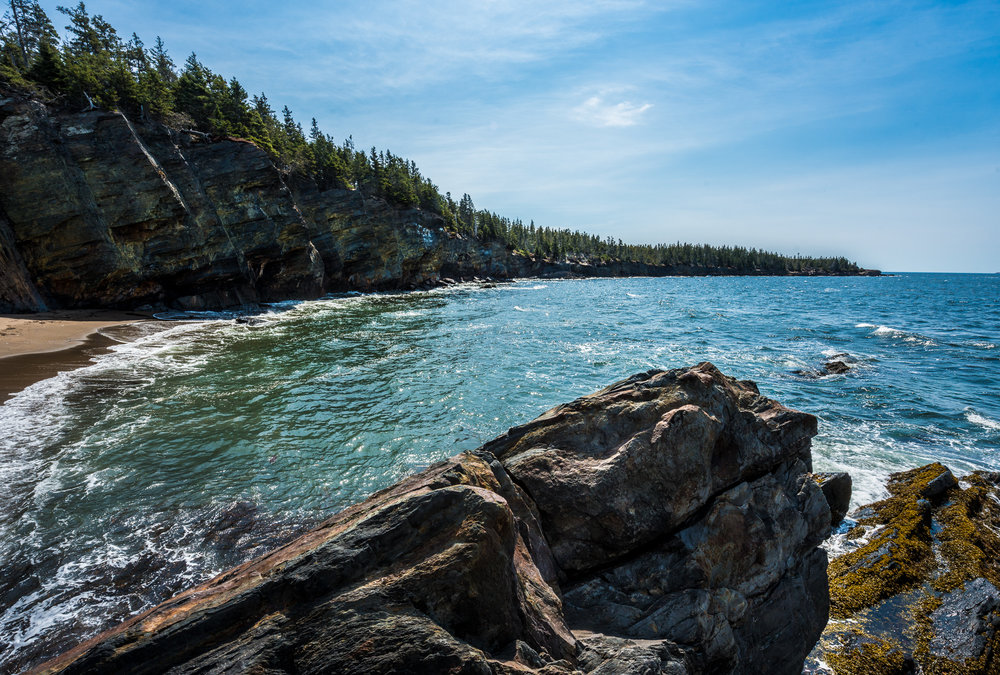 "Gaff Point Trail, ""the secret beach""  Nova Scotia"