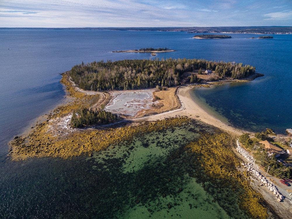 Micou's Island, St. Margarets Bay, Nova Scotia.