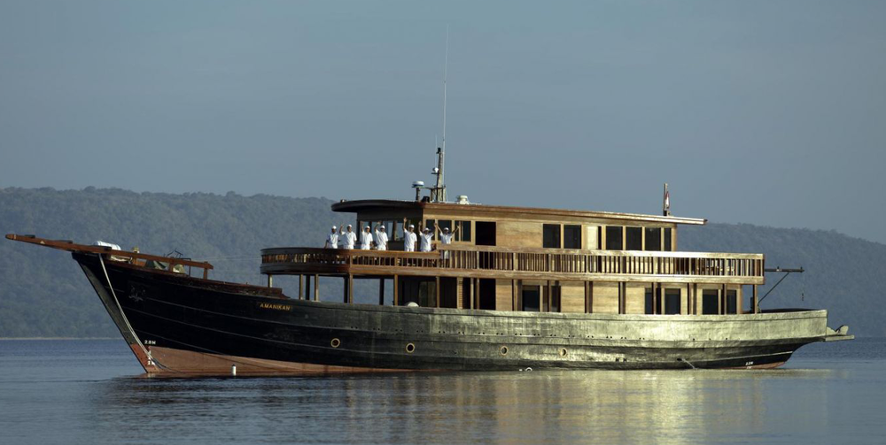 Яхта AMANIKAN
