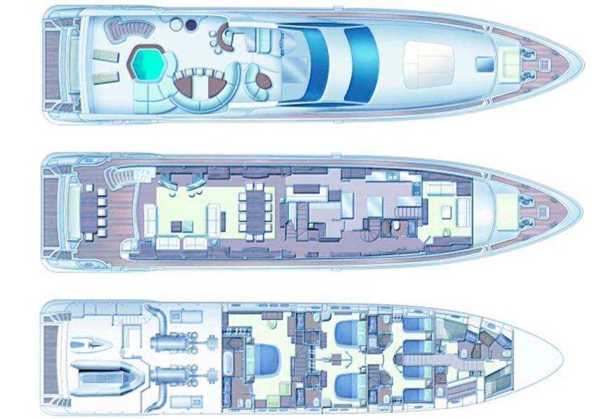 Яхта LADY R