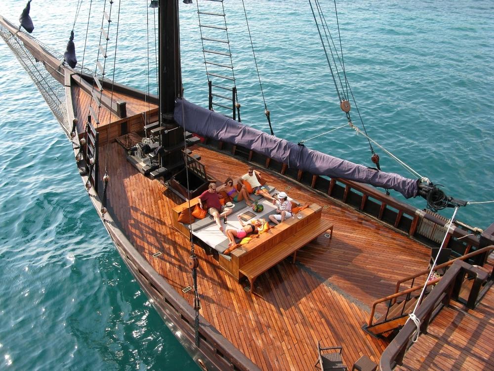 Яхта EL ALEPH