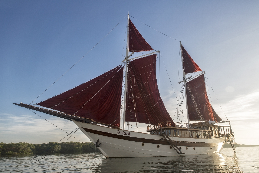 Аренда яхты на Бали, Комодо, Раджа Ампат в Индонезии_Tiare