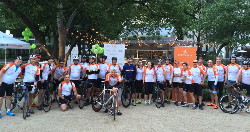 Chefs Cycle for No Kid Hungry | 2015