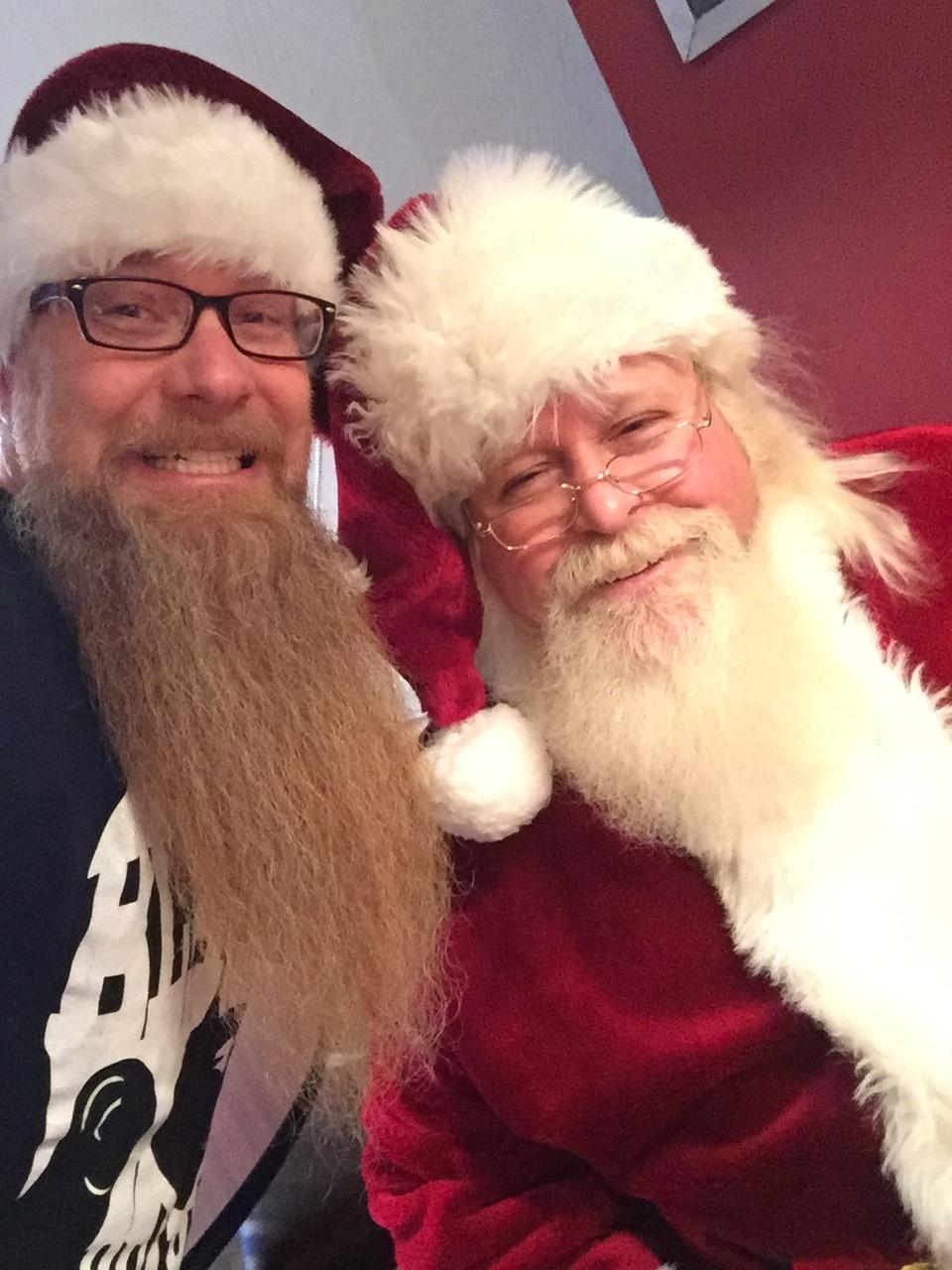 Scott & Santa
