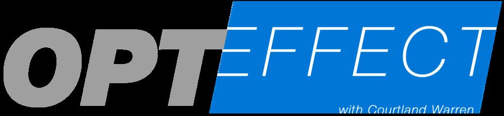 OptEffect logo design