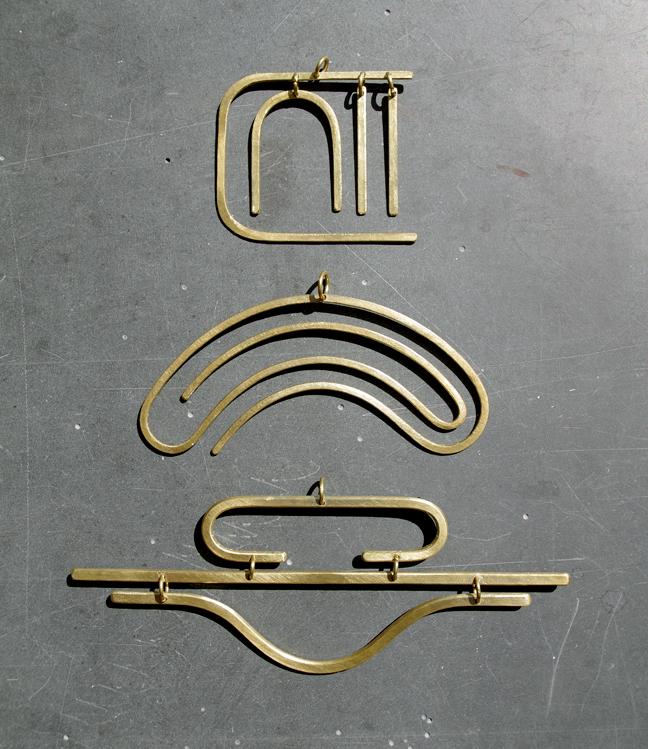 Palenque Necklaces Brass