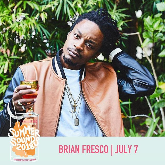 Another one...* @djkhaled voice * Who's coming out to Summer Sounds tonight?! @brianfresco is in charge of the sonics, so grab a refreshing summer cocktail and lounge on the roof with us at @drumbarchi !