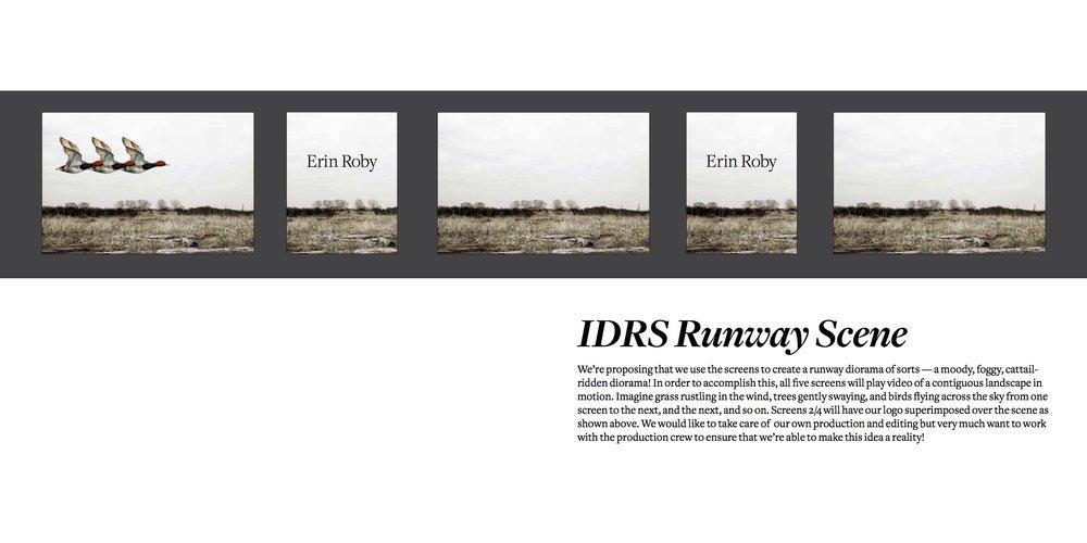 Runway Experience Design