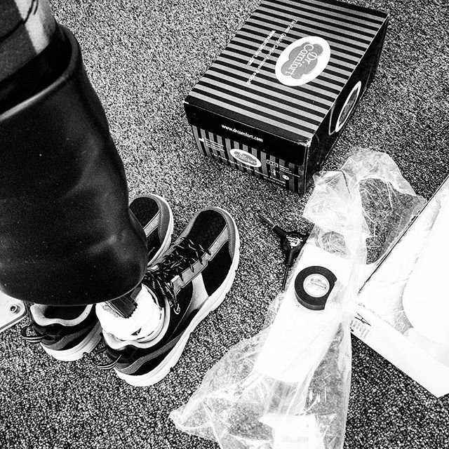 Still life of a test socket fitting. #aalseattle #aalimbseattle #americanartificiallimb #smallbusiness #seattle #georgetownseattle #prosthetics #prostheticsofinstagram #hashtagexplosion #allthehashtags #blackandwhite