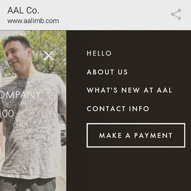 New feature on our website: you can now make payments online! . . . #smallbusiness #aalseattle #americanartificiallimb #prosthetics #orthotics #seattle #pacificnorthwest #itsthelittlethings