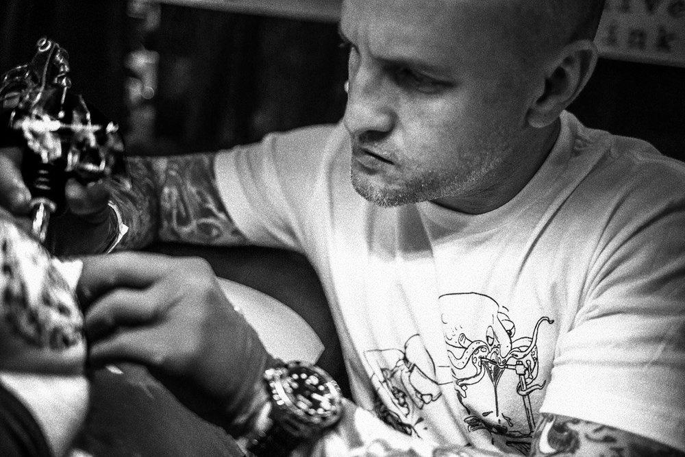 Miami Tattoo Artist G Chaviano