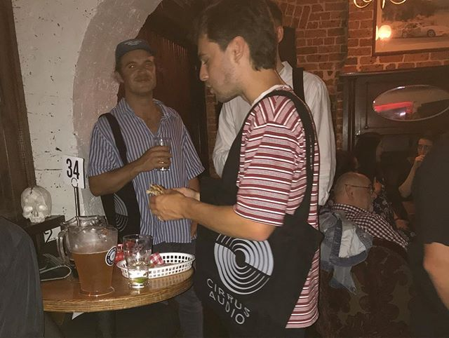 We had such a great time last night celebrating the artists who trust us with their music and allow us to be in the studio every single day.  We gave out some super thick - limited edition Cirrus tote bags and have a few left over and will be available for purchase shortly. Who wants one?
