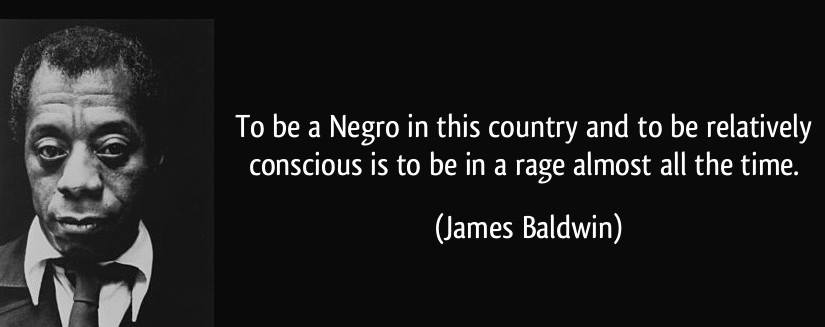 Ferguson - James Baldwin Quote