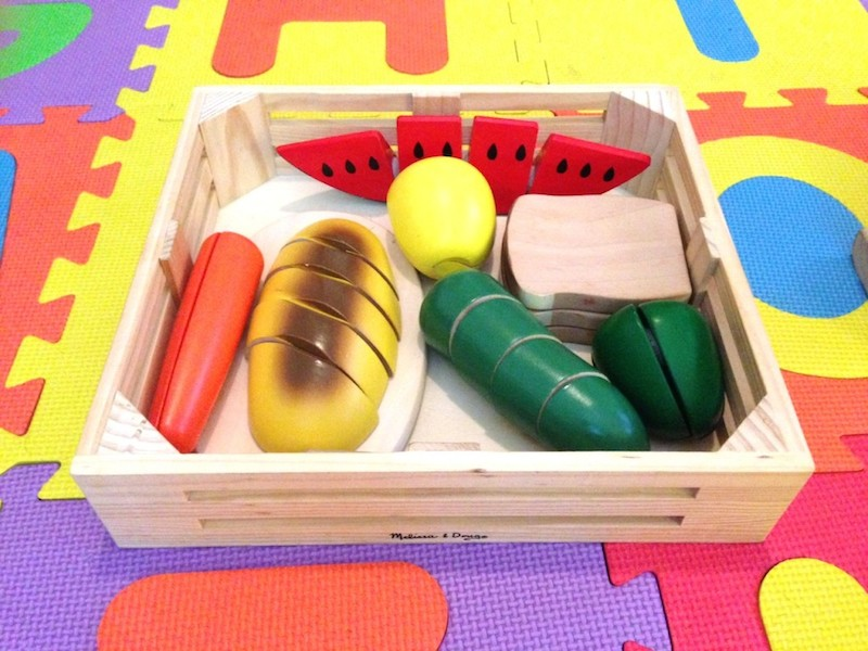 Melissa & Doug Fruit and Veggie Food Set