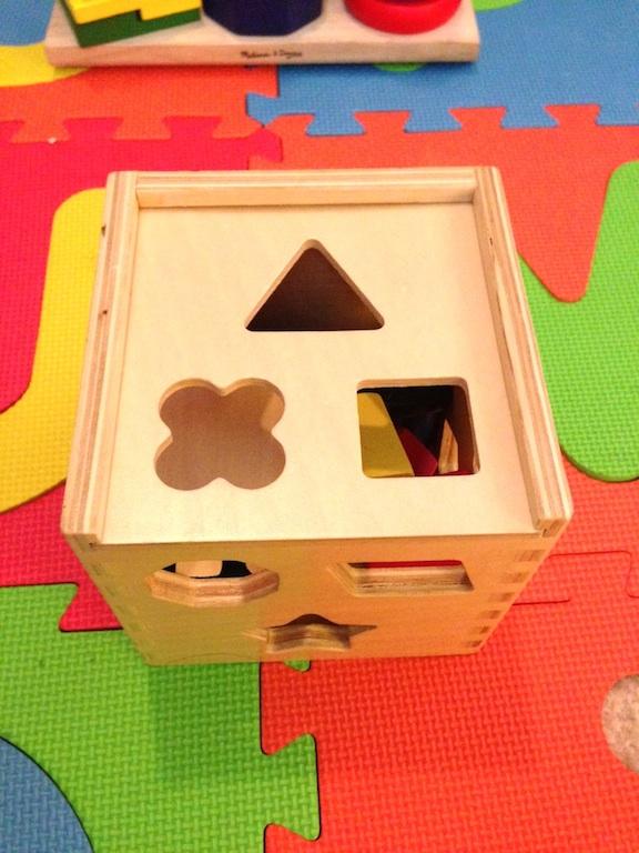 Melissa & Doug Shape Sorting Cube 1