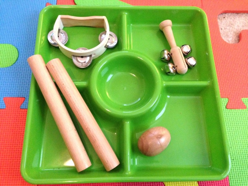 Musical Instrument Tray for Home