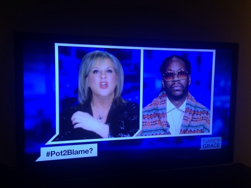 2 Chainz debating Nancy Grace over recreational marijuana legalization