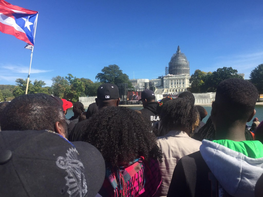 Million Man March 2015 - Front of Capitol