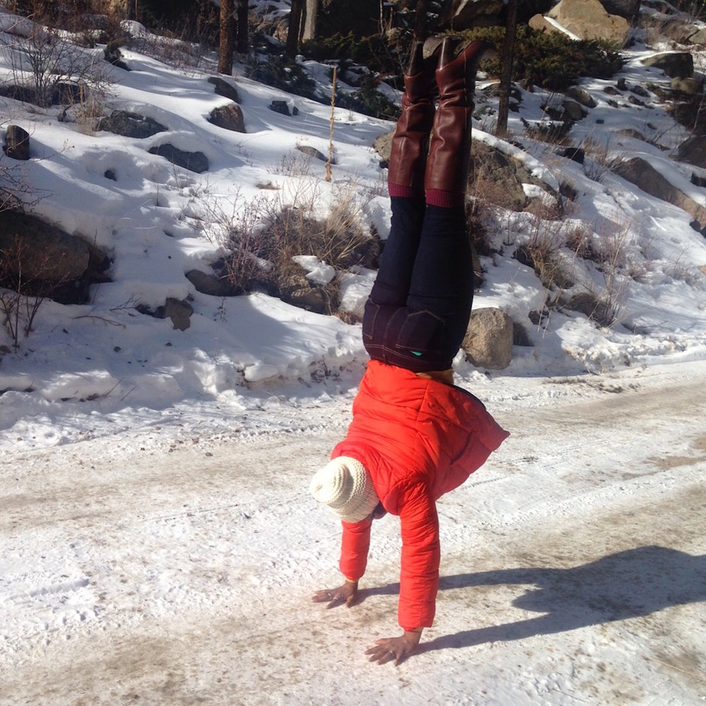 Handstand in Georgetown CO
