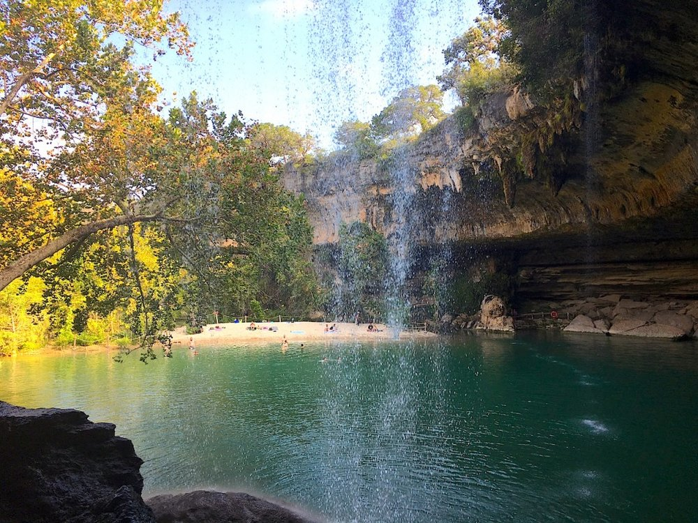 side-view-of-hamilton-pool