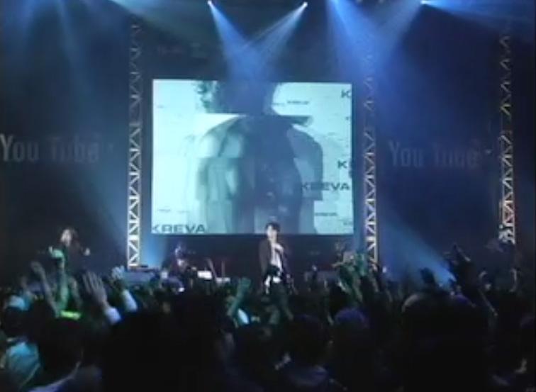 YouTube連動VJ Kreva「成功」