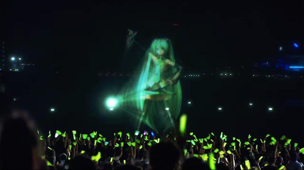 初音ミク Water Projection Live (夏の終わりの39祭り)