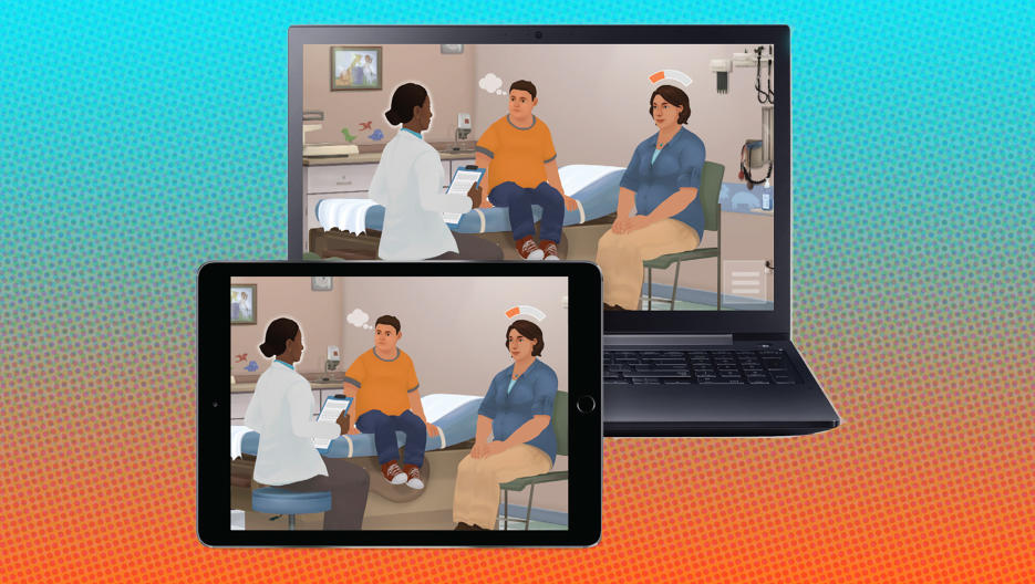 In the US,  Change Talk 2.0  offers a virtually simulated environment where doctors can practise holding sensitive conversations with patients like those surrounding weight or lifestyle, see real-time feedback and develop better 'bed-side' skills.  Read more at:  https://goo.gl/Bb8oos