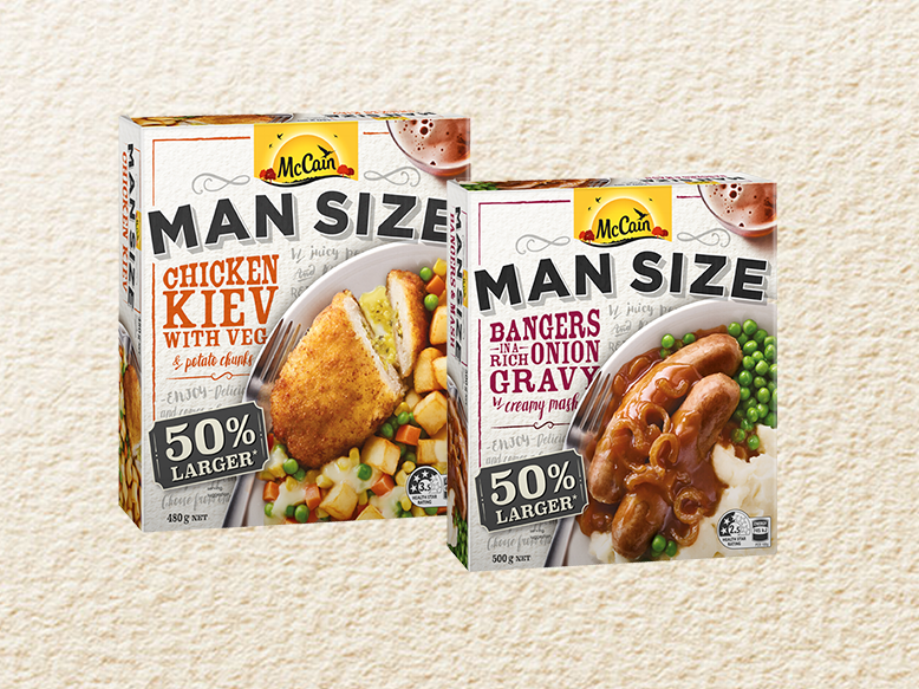 Rethinking Ready Meals to Satisfy a Man-Sized Appetite - How McCain Rejuvenated the Frozen Meals Category in the Face of Disruption