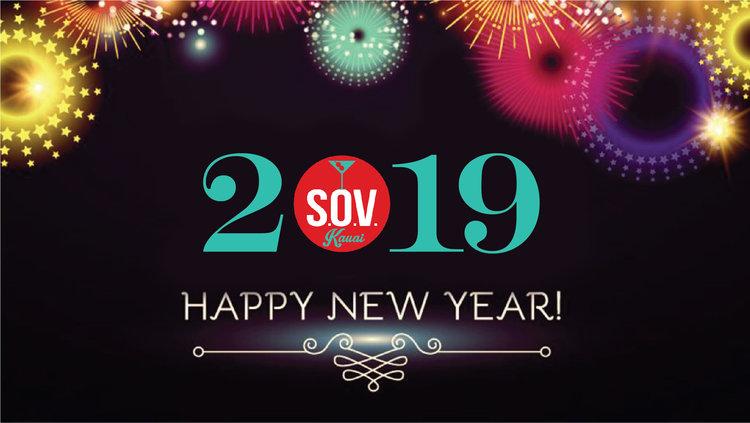 NEW YEARS EVE DINNER 2019 — Kapaa Restaurants   Sam\'s Ocean View