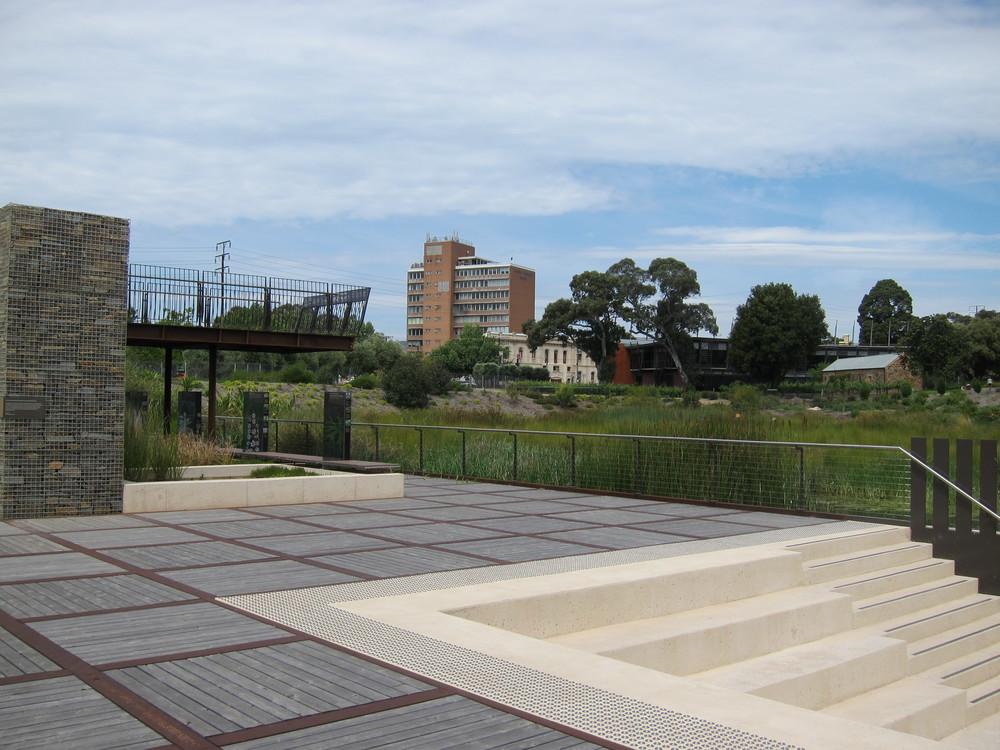 Adelaide Botanic Gardens Stormwater Harvesting