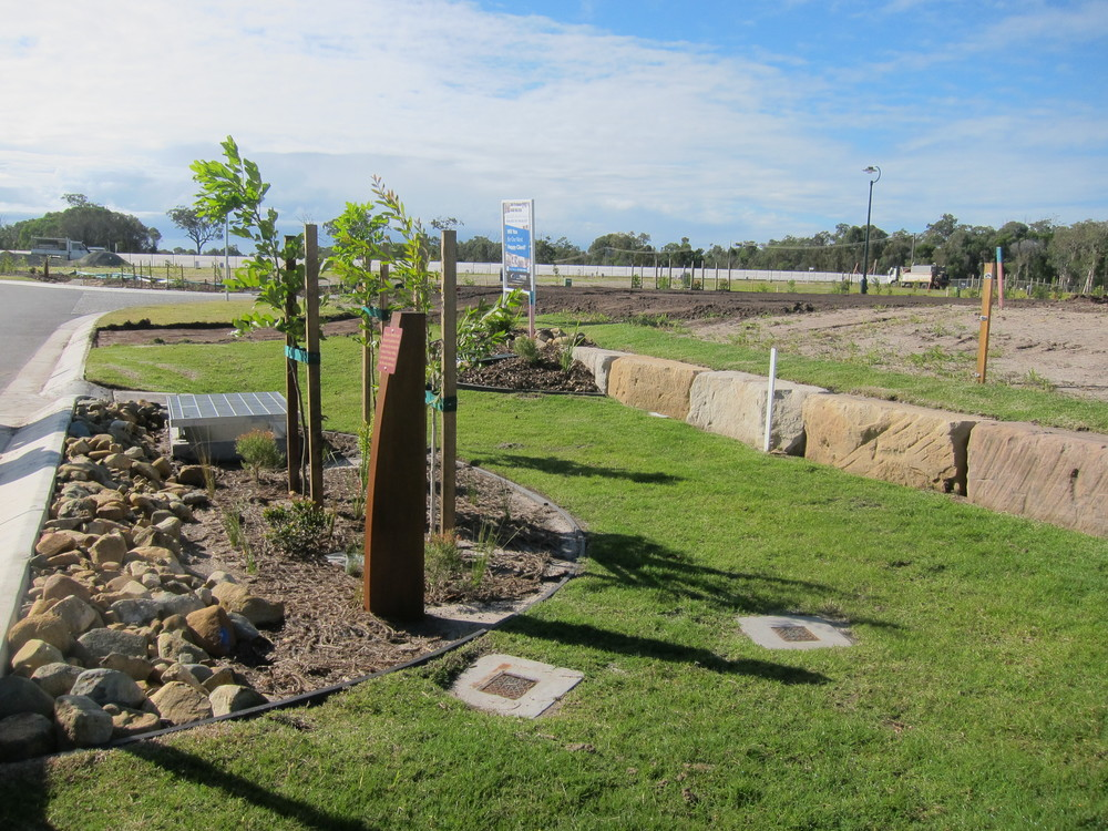 Pelican Waters Bioretention System