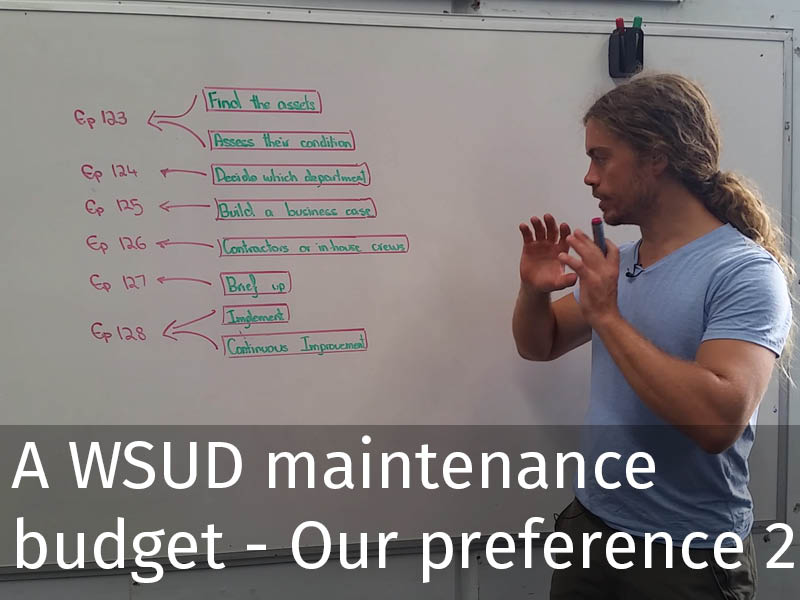 20150102 0130 Obtaining a WSUD maintenance budget - Our preference of contractors or in-house crew.jpg