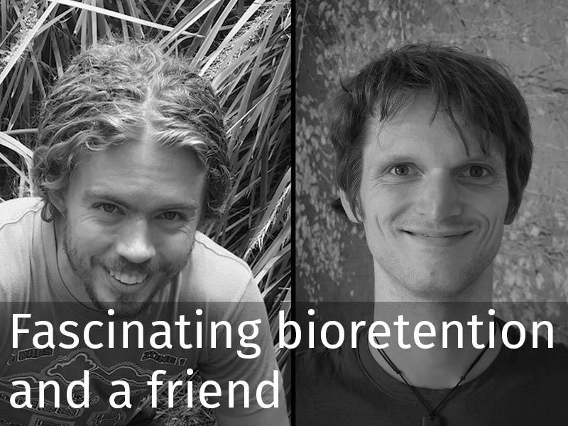 20150102 0256 Fascinating bioretention and a friend.jpg