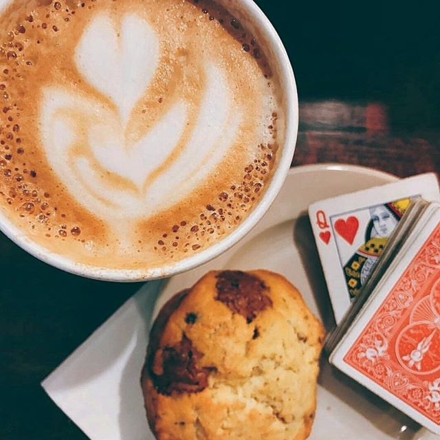 Try your luck. At Two Hearted Queen, the (coffee)house wants you to win, too. __________ Gorgeous photo by @rjsheehan5. Coffee by @twoheartedqueen.