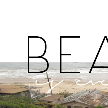 Beauty is everywhereAn observation of type in the environment around us. -