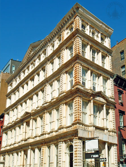 330 Bowery, one of Kirsten's favorite examples of  NYC architecture. Downtown Manhattan.