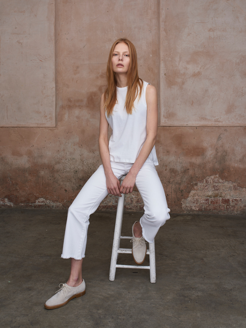 Top and Trousers by Mainline Basics S/S17, available at   Rêve en Vert.