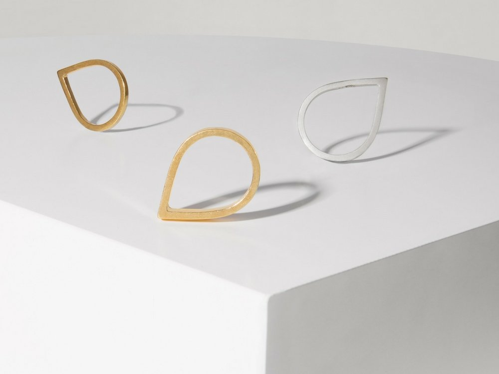 Selection of Point and Wide Point Rings by Matthew Calvin