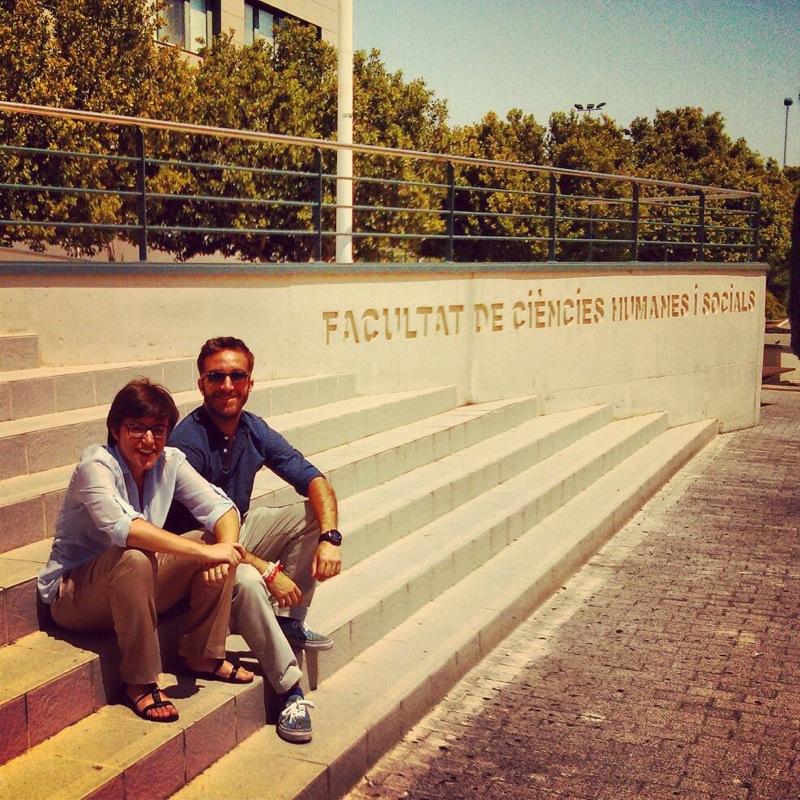 Llevamos varias semanas viajando de punta a punta del país participando en cursos de Universidad de Verano. Ayer nuestro director, Francisco Polo y nuestra directora de campañas Irene Milleiro estuvieron en la Universitat Jaume I de Castellón.