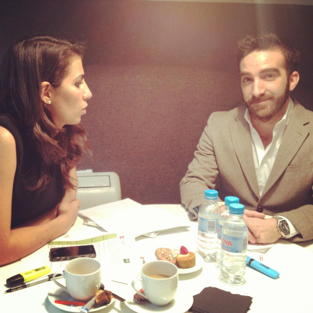 Estamos preparando el acto de entrega de los V Premios Jóvenes Emprendedores Sociales con Ana Pastor :)