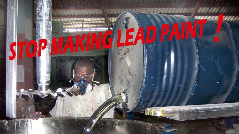 Stop making lead paint and poisoning people around the world