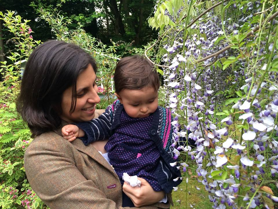 Separated: Nazanin is in solitary confinement while Gabiriella is being cared for by her grandparents in Iran