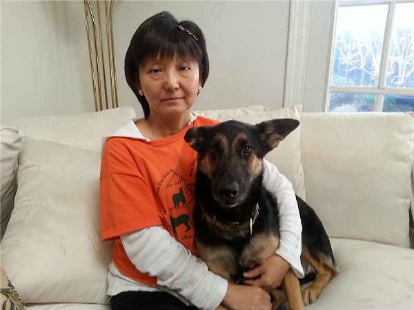 Animal rights activist Andrea Gung is calling for an end to the event