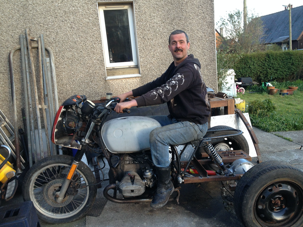 Charitable: Motorcycle enthusiast Bob raised thousands in cash for good causes