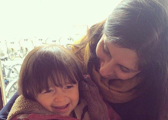Separated: Gabriella has not seen her mum Nazanin since she was detained on April 3