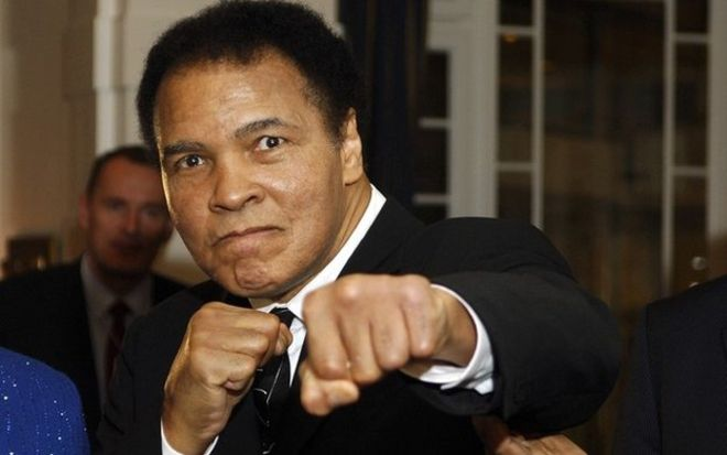 RIP: David Haye has renewed his calls to honour boxing legend Muhammad Ali with a knighthood on the day of his funeral in Louisville, Kentucky, in the US