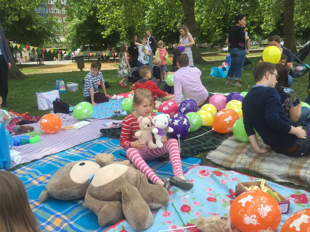 Happy Birthday: Friends, family and supporters celebrated Gabriella turning two years old