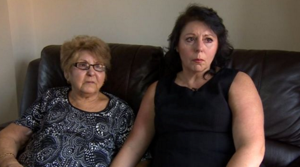 Unwell: Irene Nel (left) with her daughter, Desree Taylor (right) is fighting to stay in the UK