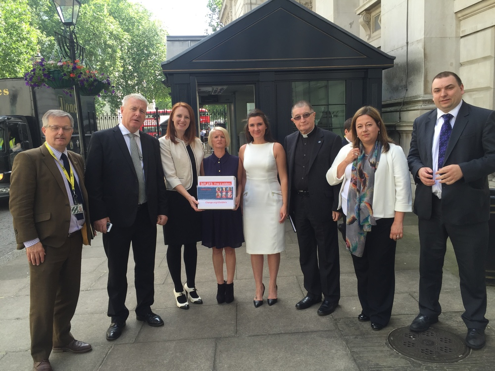 Political support: Yvonne's two-year campaign has been backed by cross-party MPs