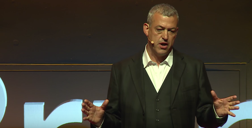 Getting angry: Simon Willis at TEDx Birmingham talks about how to get angry for a good cause